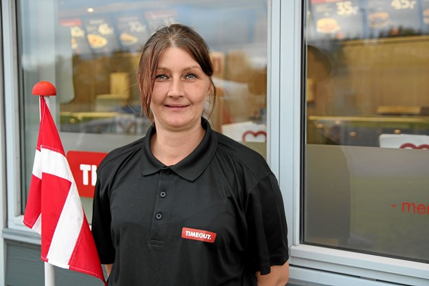 Lenette Nielsen fra Nørhalne er den nye forpagter af Timeout i Aabybro.