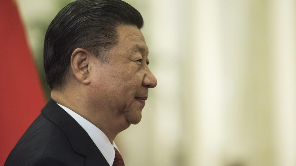 KInas præsident, Xi Jinping, ønsker, at presset på Nordkorea skal bevares trods diplomatisk åbning, lyder det fra Det Hvide Hus.  Foto: Scanpix/Fred Dufour/arkiv
