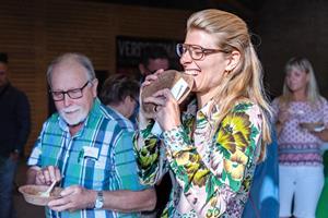 Minister spiste tallerken på Voergaard Slot: - Det har været det grønneste folketingsvalg nogensinde