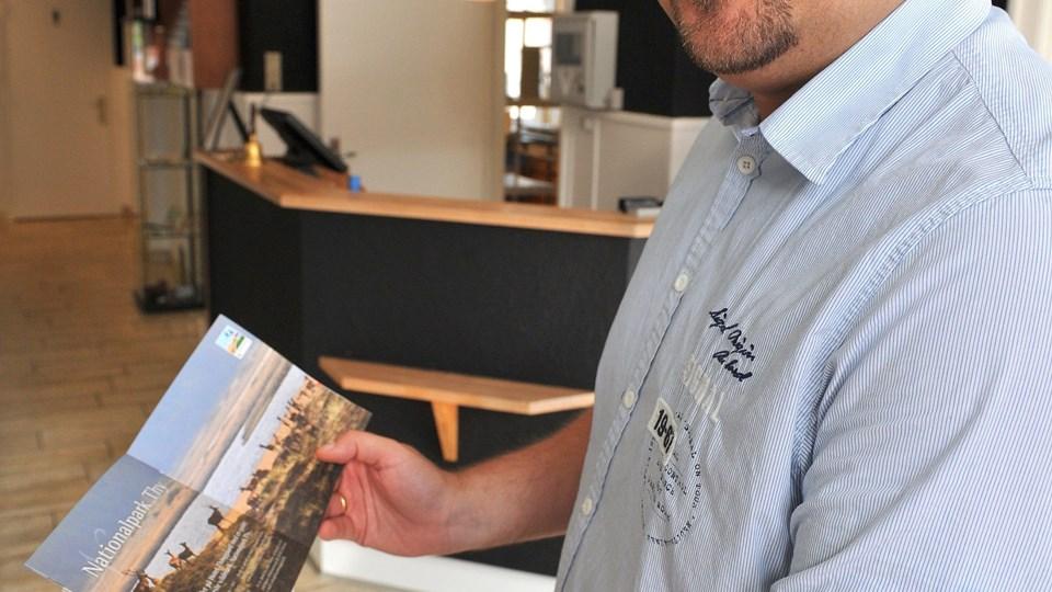 Michael Thinggard er indstillet til erhvervsleder-pris.  Foto: Ole Iversen.