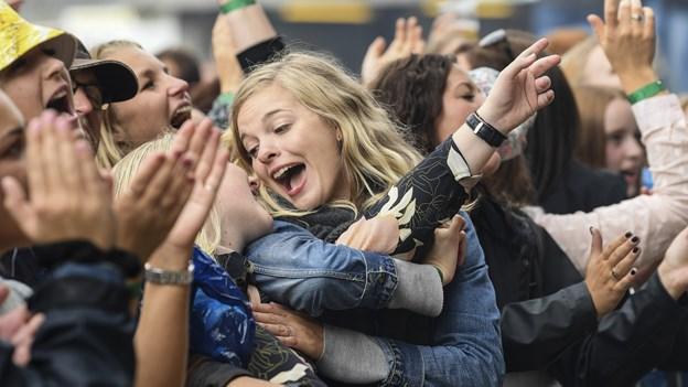 Glæde inden festival på Mors: Lilholt, Birthe Kjær og Ole Gas sælger billetter