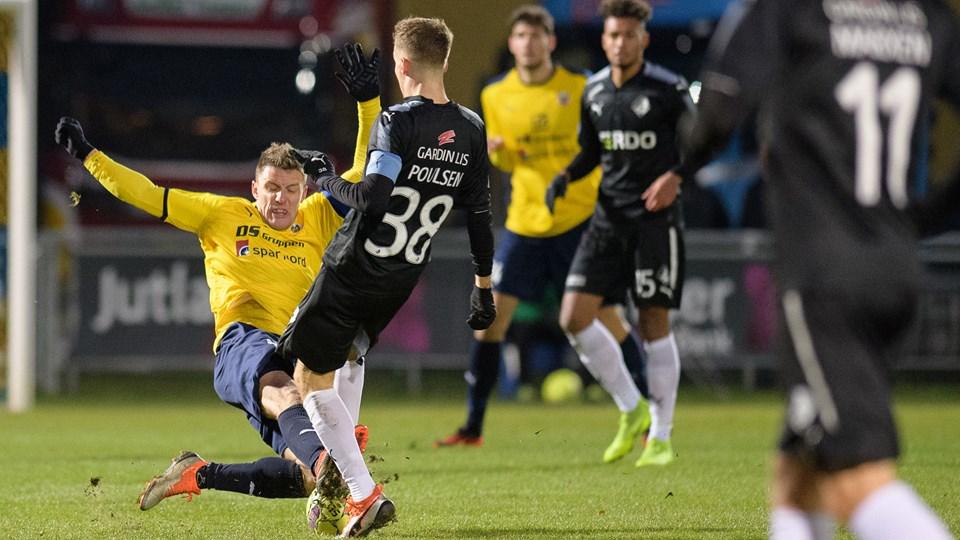 Jonas Brix-Damborg var fremragende selv i nederlaget. Foto: Peter Broen