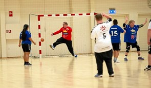 Flot hjemmestævne for Special Olympics