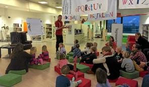 Kultur-samarbejde: Tid til eventyrlig leg på biblioteket