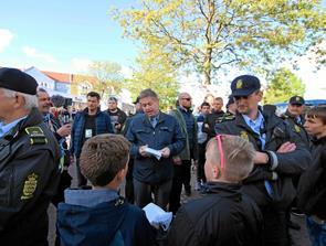 Politikere besøgte Dronninglund