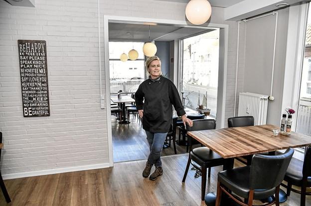 Restauranten med plads til 60 gæster er blevet shinet op.