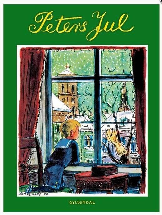 Jeg glæder mig i denne tid ...- fra 'Peters Jul'.