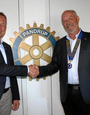 Rotarianere fik ny præsident