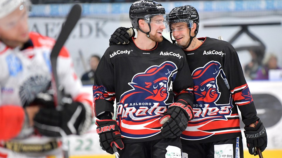 Aalborg Pirates kunne glæde sig over en fin test mod svenske Borås. Foto: Claus Søndberg