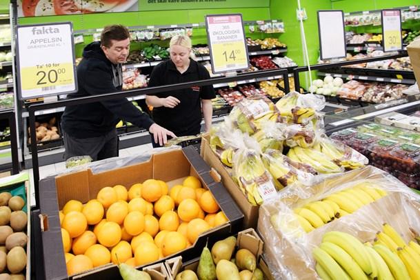Fremtidens supermarked selvbetjent