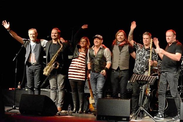 E-Street Jam - et syv mands stort orkester med stor passion for 'The Boss'.pr-fotos