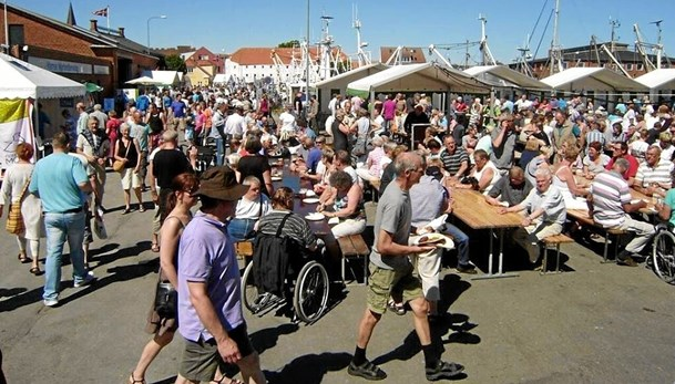 Skaldyrsfestival i Nykøbing