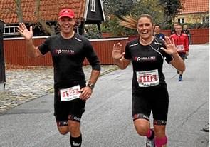 Anja fylder 40 år og løber 40 kilometer