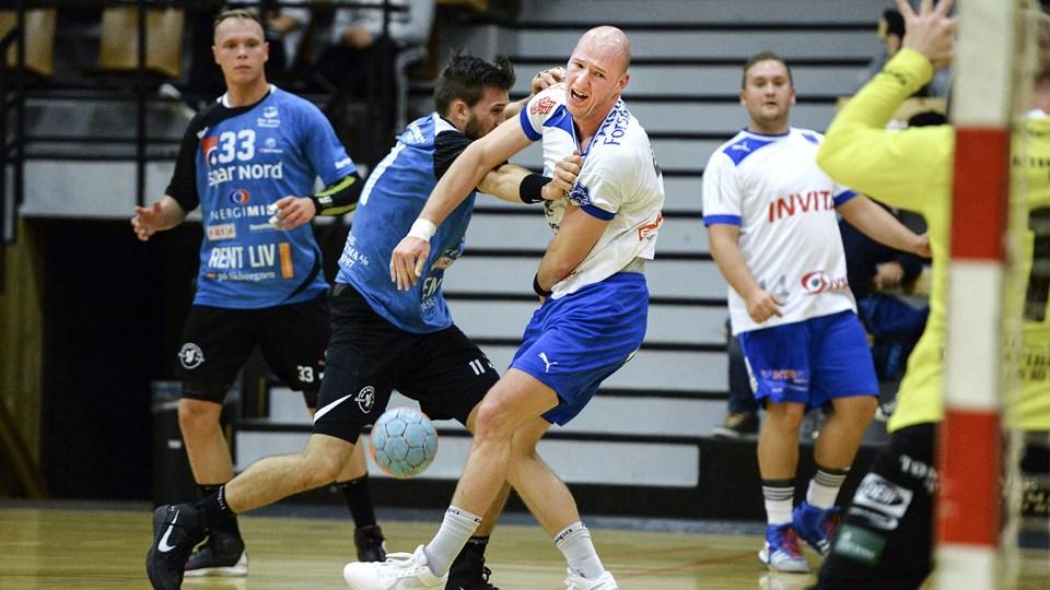 Team Himmerlands mænd har tabt alle de tætte kampe i sæsonen. Foto: Claus Søndberg