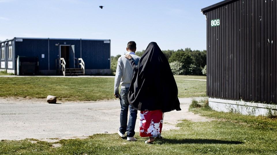 Dansk Folkeparti kræver flere afviste asylansøgere sendt hjem. Det siger DF's gruppeformand, Peter Skaarup, før statsminister Lars Løkke Rasmussen (V) tirsdag 2. oktober holder sin sidste åbningstale til Folketinget før folketingsvalget. Foto: Bax Lindhardt/Ritzau Scanpix
