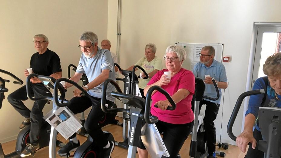 Motion med sammenhold for demente