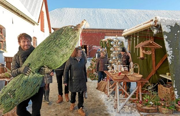 Der er en enestående julestemning på Knivholt i weekenden 8 .og 9. december