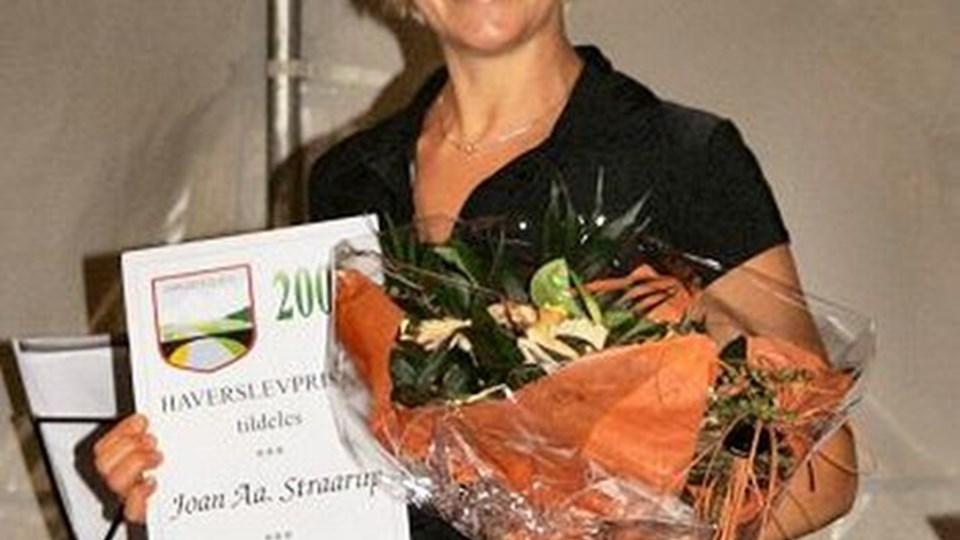 Joan Straarup stopper nu efter fire år, fordi hun som institutionsleder i øjeblikket er i gang med en omfattende to-årig efteruddannelse. ARKIVFOTO