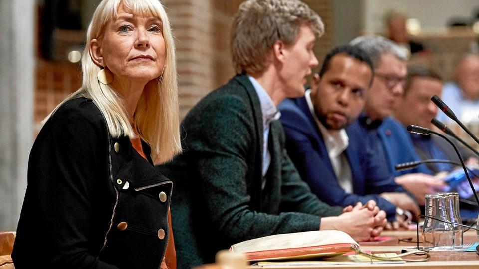 Familie- og beskæftigelsesrådmand Mai-Britt Iversen (S) mener, at Venstre udøver politisk plat, når de mener, at en flytning af beskæftigelsen til borgmesterens ansvarsområde kan løse Aalborgs store problemer på området.  Arkivfoto: Henrik Bo