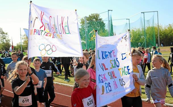 Skole OL i fuld firspring