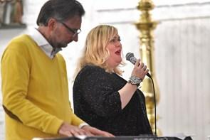 Marie Carmen Koppel fyldte Thisted Kirke
