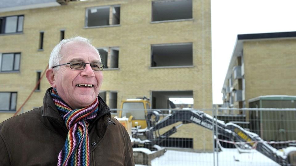 Direktør for Bolig Hjørring, Jens Ole Jørgensen husker meget lidt fra konsulentens arbejde.  Foto: Hans Ravn