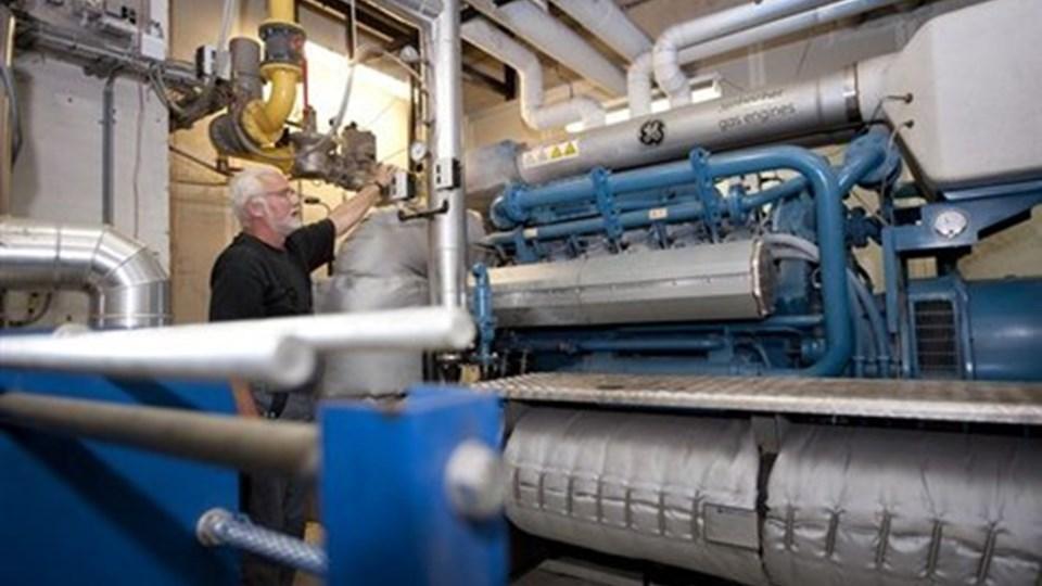 Biogasanlægget i Vegger kan ikke følge med efterspørgslen, når det bliver rigtig koldt. Bl.a. derfor skal det udvides, så forbrugerne fortsat kan få varme til en fornuftig pris. Arkivfoto: Grete Dahl