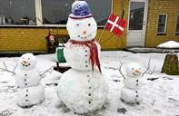 Hanstholm fejrede VM i sne