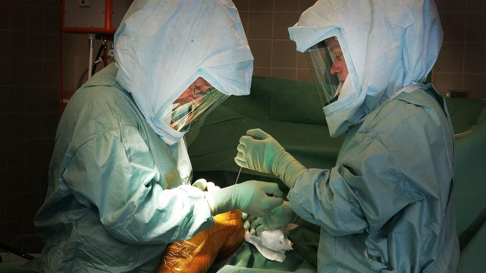 Ortopædkirurgien i Farsø, som især er kendt for sine knæ- og hofteoperationer, modtager patienternes pris 2016. Arkivfoto: Bent Bach