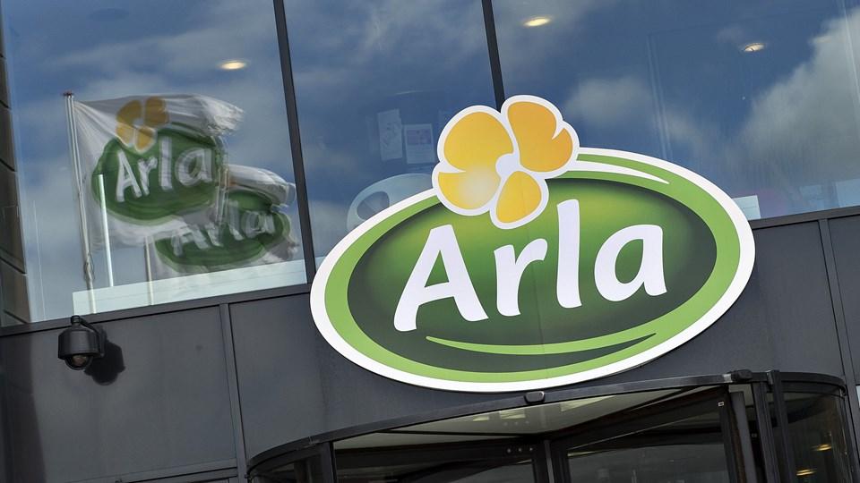 Arla havde et forrygende år i 2017. Foto: Scanpix/Henning Bagger