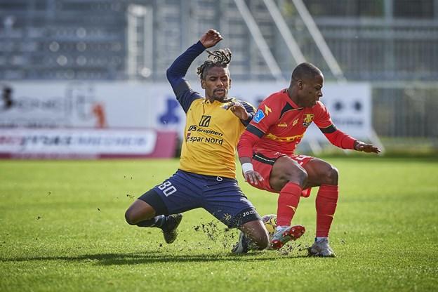Hobro IK mod FC Nordsjælland på DS Arena i Hobro. Foto: Henrik Bo