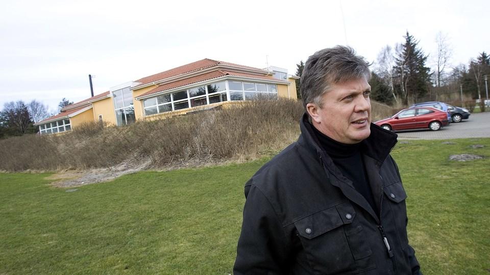 Ejeren af Koldkær Svømmehal, Finn Jensen, vil ikke sælge svømmehallen for 2,5 mio. kr. Arkivfoto: Per Kolind