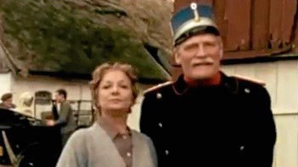 Arrogante oberst Hackel (th.) fra tv-serien Matador. Den slags typer findes stadig i forsvaret, mener eksminister. Foto: DR