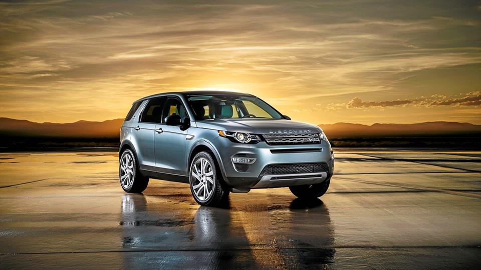 Den nye Land Rover Discovery Sport ligner en softroader, men den kan stadig klare sig i terrænet. Foto: Land Rover