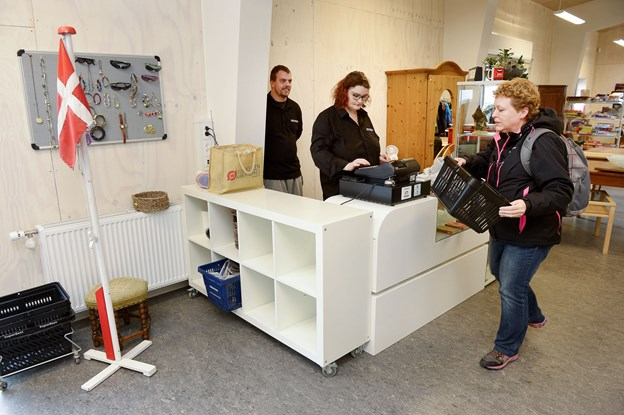Kommunen ønsker at tilgodese et stort ønske fra borgere med handicap om lønnet arbejde. ?Arkivfoto: Claus Søndberg