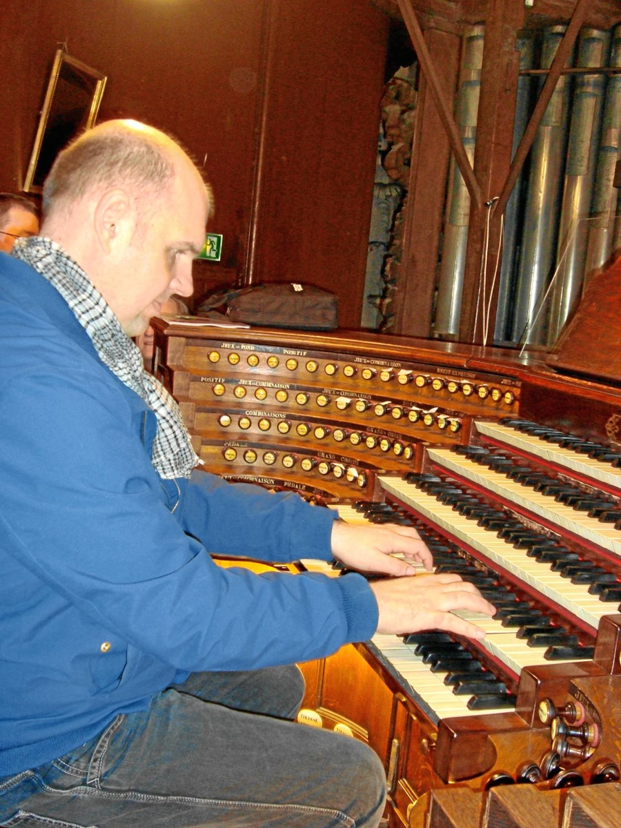 Orgelandagt i Tornby Kirke udskudt en uge