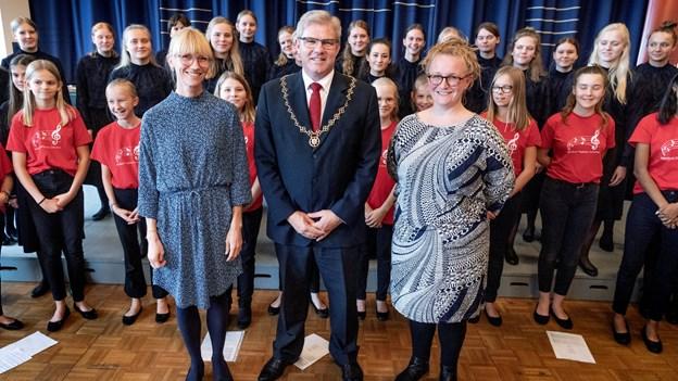Borgmester bliver protektor for Nordjysk Pigekor