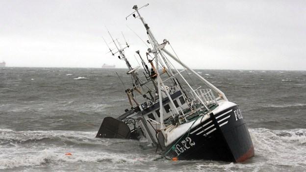 Dramatisk redningsaktion ved Skagen
