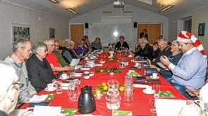Julen sunget ind i Ranum Sognehus
