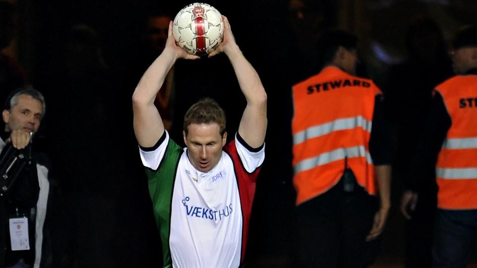 Thomas Grønnemark har en uofficiel verdensrekord i indkast. (Arkivfoto)