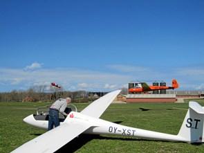 Et åbent flyvende hus på Mors