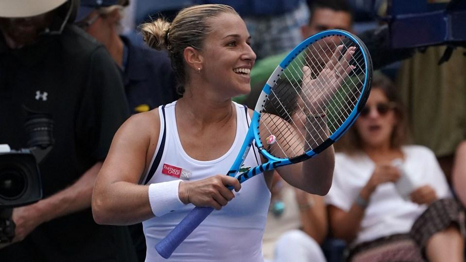Dominika Cibulkova er seedet som nummer 29 i US Open. Flere af turneringens topseedede spillere er ude inden ottendedelsfinalerne. Foto: Kena Betancur/Ritzau Scanpix