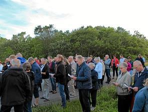 Sankthansfest på Søndbjerg Strand