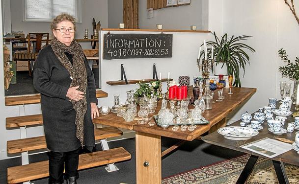 Antikviteter flyttet ind i Waar Savværks butik i Løgstør