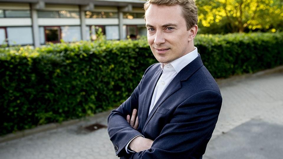 Morten Messerschmidt (DF) har ikke siddet i Folketinget siden 2009. Nu vil han tilbage efter næsten et årti i EU-Parlamentet. Foto: Keld Navntoft/Ritzau Scanpix