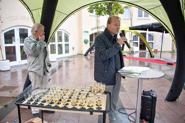 Løvetorvet i Mariager blev genindvietFoto: Kurt Bering