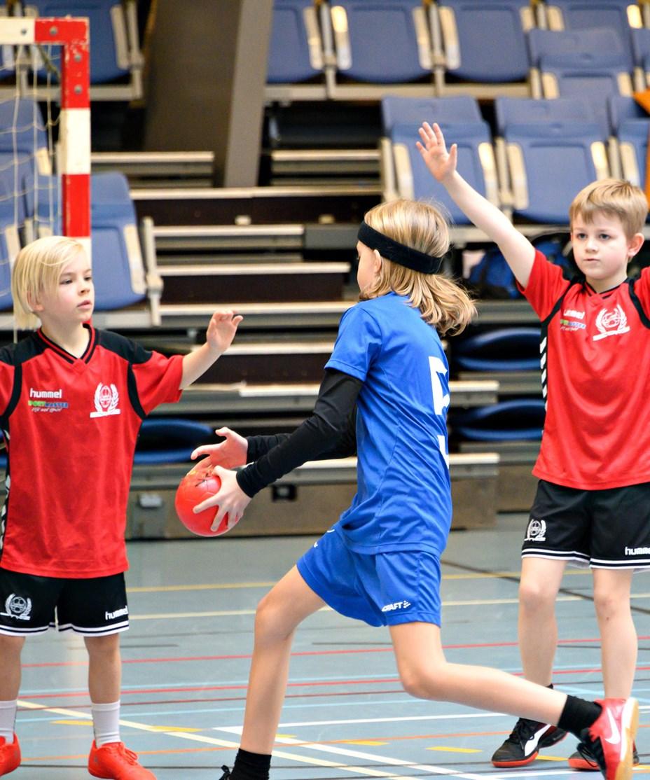 Stort håndboldstævne hos BI