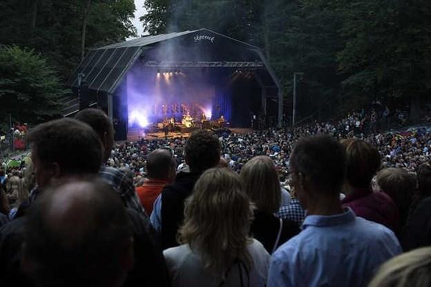 Der er lagt op til flere store fester i Skovdalen i 2019. Arkivfoto: Lars Pauli