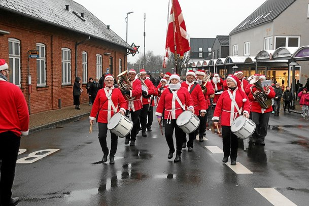 Julen kom til Hvidbjerg