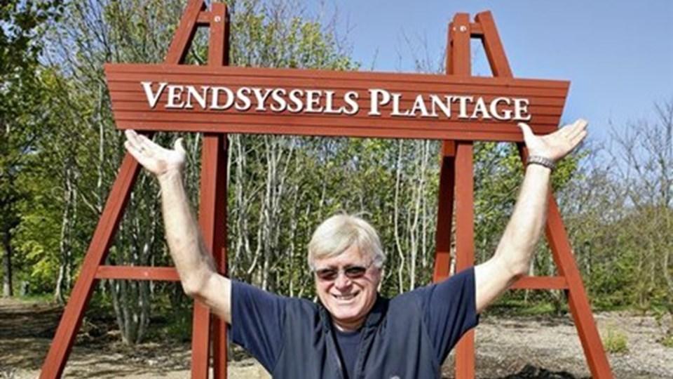 Marthin Stadsvold er glad for den forandring, Vendsyssel Plantage har taget de senere år. Arkivfoto: Bent Bach